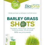 BIOTONA SHOTS BARLEY GRASS (20 sticks)