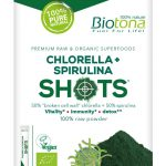 BIOTONA SHOTS CHLORELLA+SPIRULINA (20 sticks)